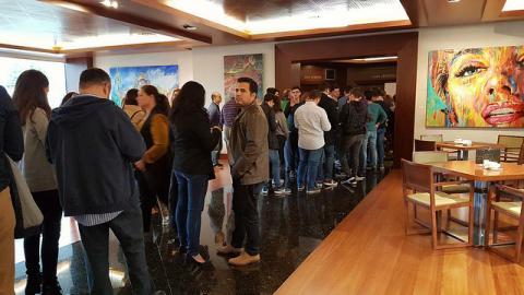 Más de 150 personas arropan a HazteOir.org en la conferencia 'Marxismo, feminismo y LGTBI' en Murcia