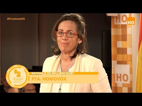 Premios HO 2017. Intervención de Natalie de Williencourt. Homovox