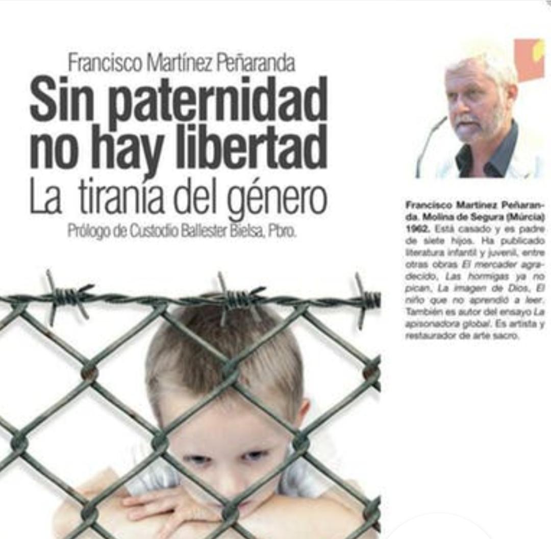 Presentación del libro «Sin paternidad no hay libertad. La tiranía del género»