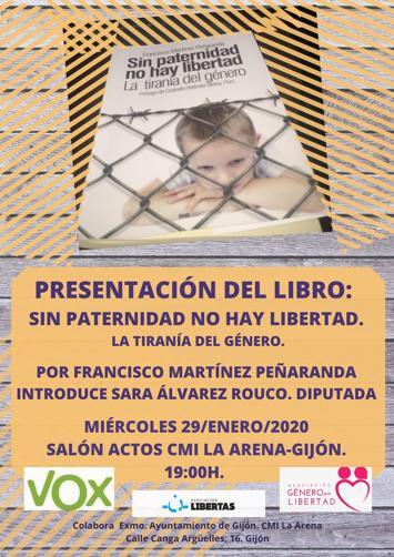 Presentación del libro: Sin paternidad no hay libertad