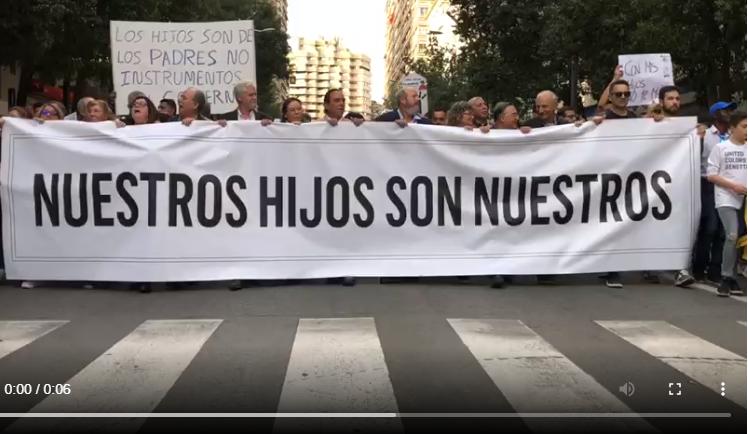 """Francisco Martínez Peñaranda: """"Habrá un antes y un después tras esta protesta a favor del pin parental en Murcia"""""""