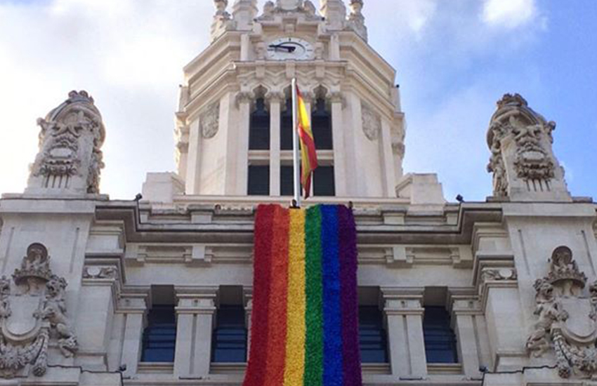 Libertas Instagram. Banderas LGTBI